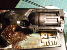 Steampunk Revolver_WIP_02 by Marduk01