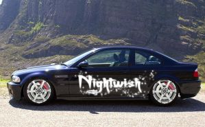 Nightwish BMW by novax2c