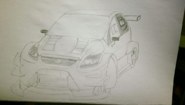 Ford Focus RS racing spec (the crew) by clouddasher