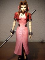 Aerith Gainsborough figure 03 by Vladsnake
