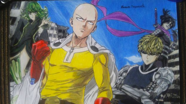 One-Punch Man by lucasnava