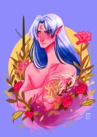 Sesshomaru by ohparapraxia
