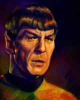 52 Portraits #47: Spock by rflaum