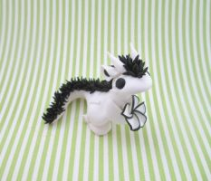 Liam the flower Dragon by KriannaCrafts