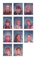 The 11 Doctors by Sabrea