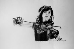 Lindsey Stirling by KayNyman