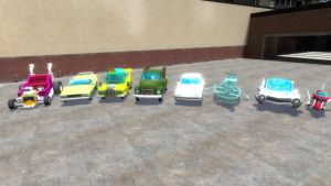 Simpsons Hit and Run cars 2 by Jason278
