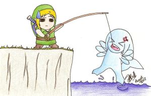 Zora Fishing by MillieBee