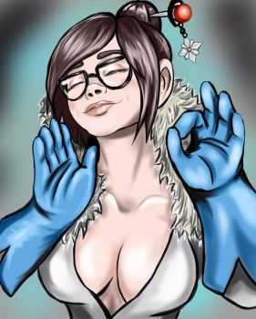 it's just right Mei by OrcBoozer