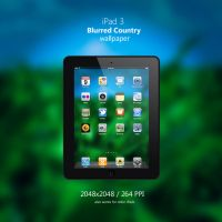 iPad 3 Blurred Country Wallpaper by Martz90