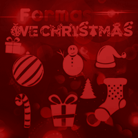 We' Christmas - Formas personalizadas by iSparkTheLight