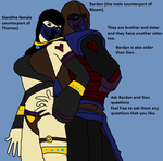 Ask Bardan and Sian questions by Natalia-Clark