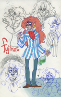 FUJIMOTO SKETCHES by AgentDax