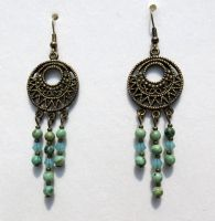 Dream Catcher Earrings by 2ndWindAccessories