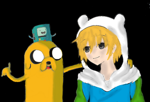 Adventure Time - Anime by luna201269
