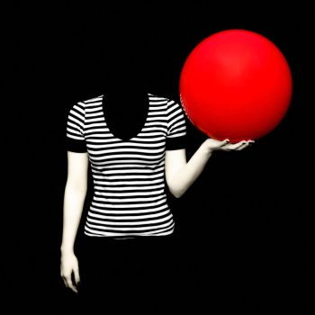 Red Ball No.1 by KacieConaboy