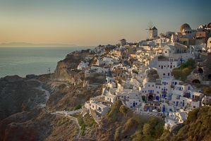 Santorini Village by micahgoulart