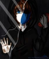Eyeless Jack (Before and After) by BloodRain98