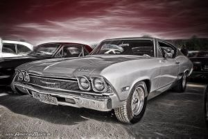 Pro Street Chevelle by AmericanMuscle