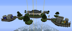 New server spawn by mineskinz