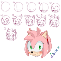 Amy head tutorial by zeldaprincessgirl100