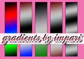 Gradient Set 1 by girlinabox
