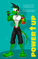 Get buff with PowerUp! by McTaylis