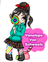 Vanelope by Danielle-chan