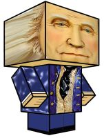 Cubee George Washington by 7ater