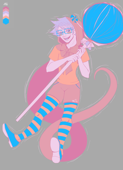 Limited Palette Trickster John by TheMockingCrows
