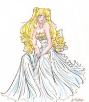 Princess Serenity 2 by lady-elf