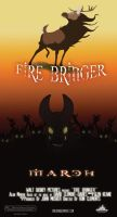 Fire Bringer Movie Poster by JenWorks