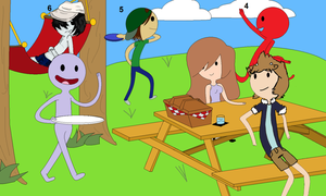 - AT Collab: picnic in the park- by 10SHADOW-GIRL10