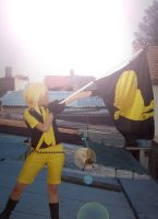 Kagamine Rin Love is War by saya-kuchiki