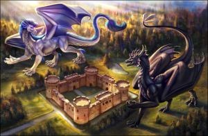 How about Humans and Dragons game? by Red-IzaK
