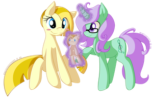 it's for you! by MintyStitch