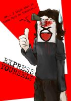XPRESS YOURSELF by FallenAngelOmega