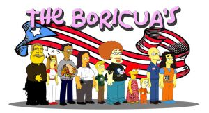 Simpsonized Rican's by pichan96
