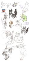 This is a sketch dump. by Gase