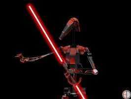 Dark Battle Droid - 7 by mech7