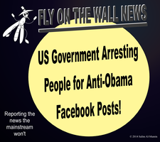 People Arrested for Anti-Obama Facebook Posts! by IAmTheUnison