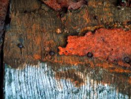 Stock Texture - rust and wood by rockgem