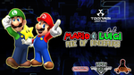 Mario and Luigi AOD Toonami 2013 Wallpaper by TuffTony