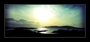 Tiree Sunset by rosebud10
