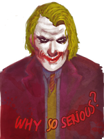 September sketch - The Joker by Eris-e