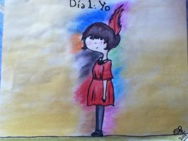 Drawing Challenge, day one by GloomRubyTuesday
