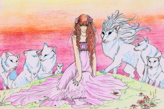 Wolves and the princess by I-Equilibrium-I