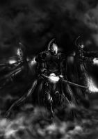 Eldar Shadow Spectres by arhicks