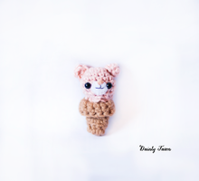Tiny Pink Bear IceCream Cone by candypow