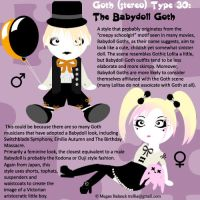 Goth Type 30: The Babydoll Goth by Trellia